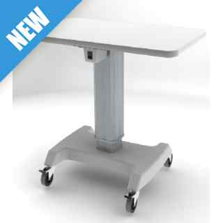 T200 Motorised Table with Double Instrument Top