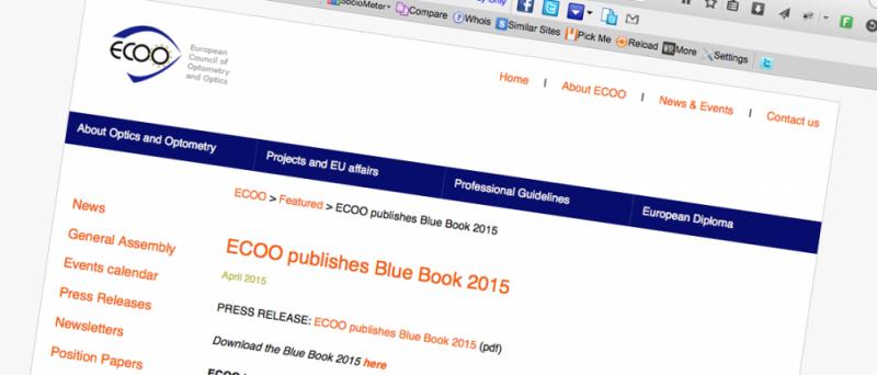 Blue Book 2015 ECOO