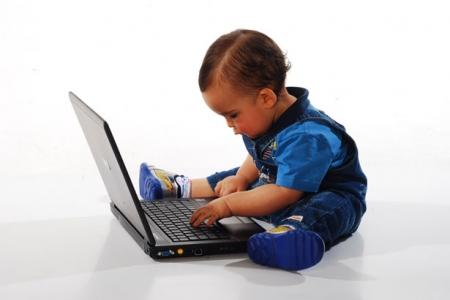 children and eye strain using laptops and digital equipment