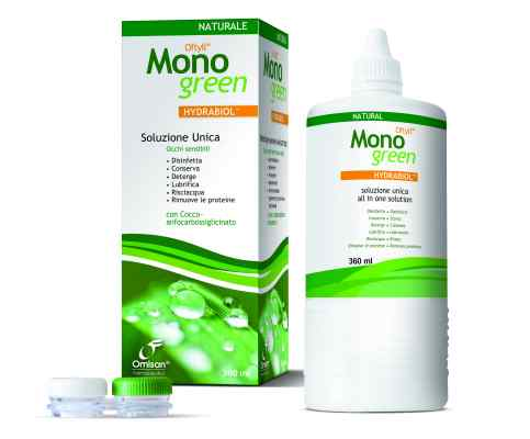 Omisan Oftyll Range Oftyll Monogreen Contact Lens Solution, Dry Eye