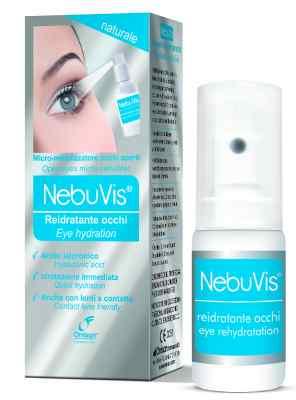 Omisan Eye Spray NebuVis Rehydration 10ml, Dry Eye