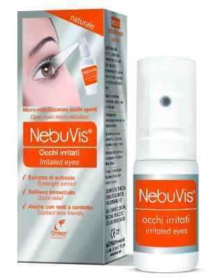 Omisan Eye Spray NebuVis Irritated Eyes 10ml, Dry Eye