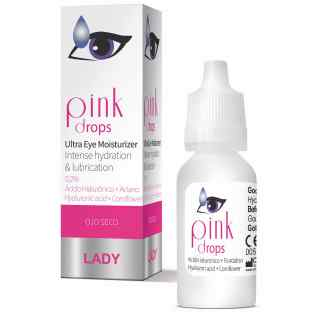 Omisan Lady Range PINK Eye Drops, Dry Eye